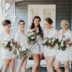Victorias Secret Bridesmaid Silk Pajama Set